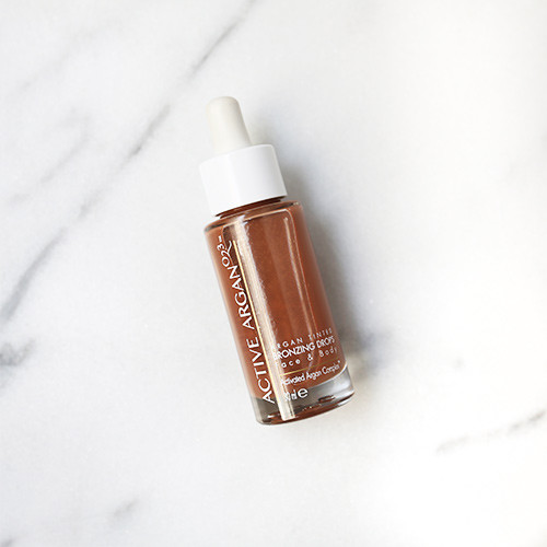 Active Argan Tinted Bronzing Oil Drops Photo
