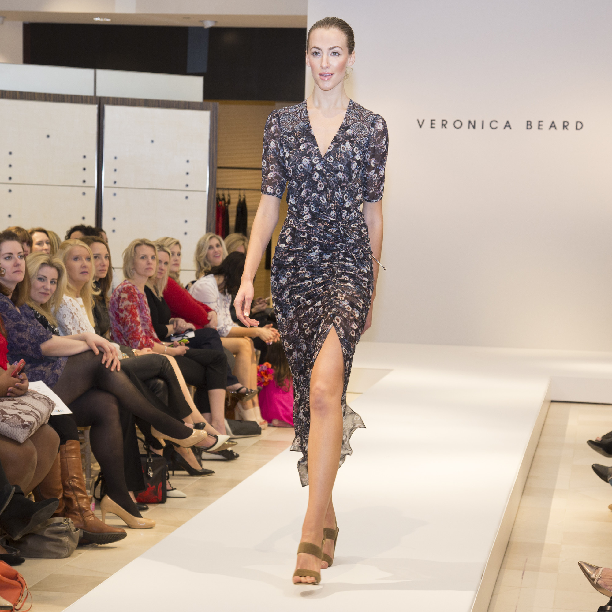 Veronica Beard Mariposa Dress Runway