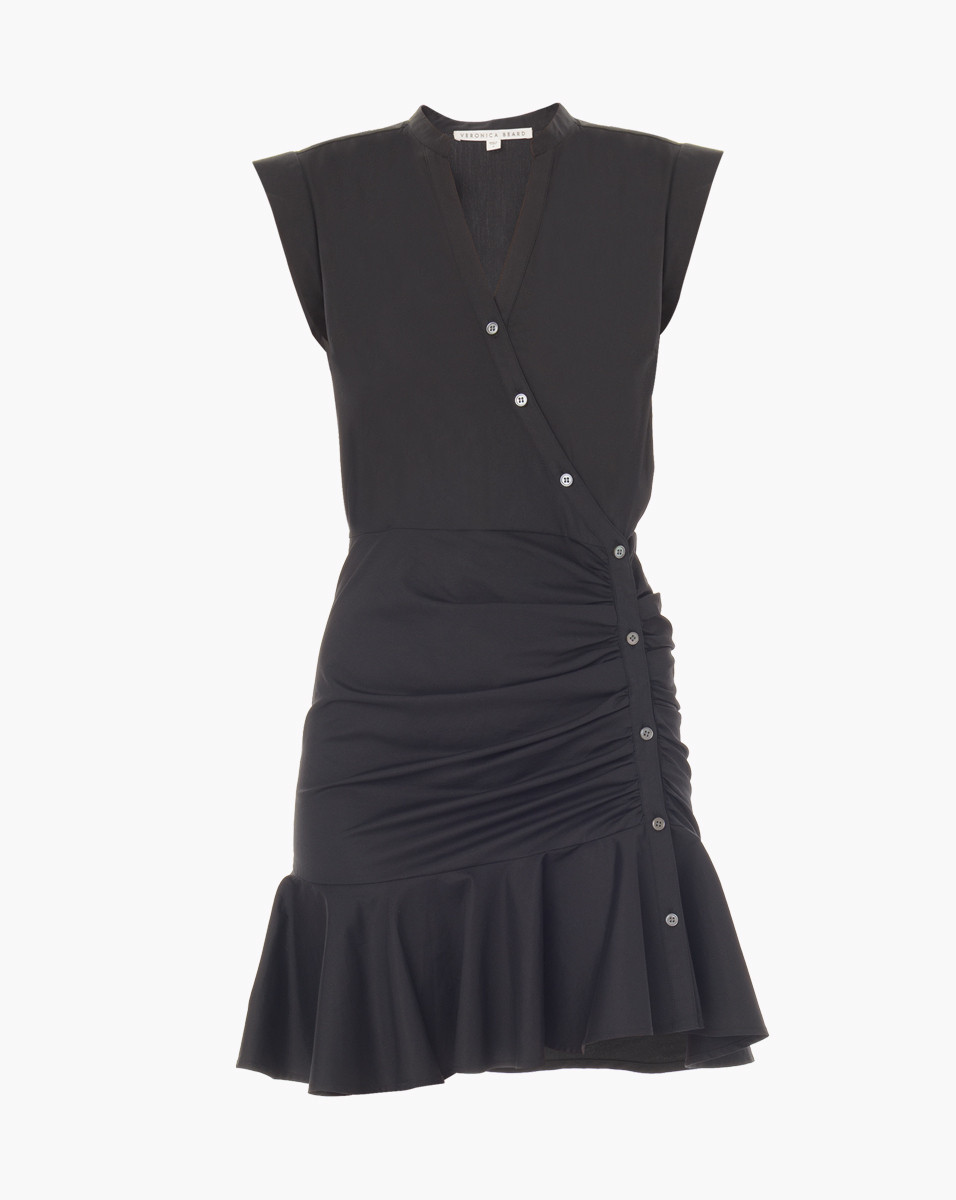 Veronica Beard Fountain Ruched Dress